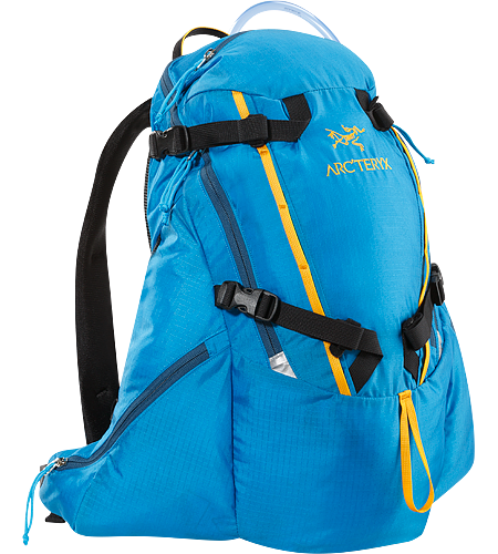 Chilcotin 20 Large, super stable 20 litre hydration pack with a variety of pockets and 2 litre custom SOURCE bladder.