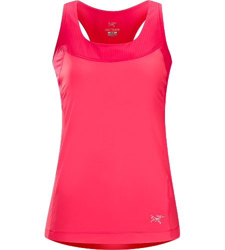 Cita Tank Women's Versatile, moisture-wicking tank top with integrated shelf bra, constructed with a comfortable mesh lining and smooth face-fabric that allows for easy layering.