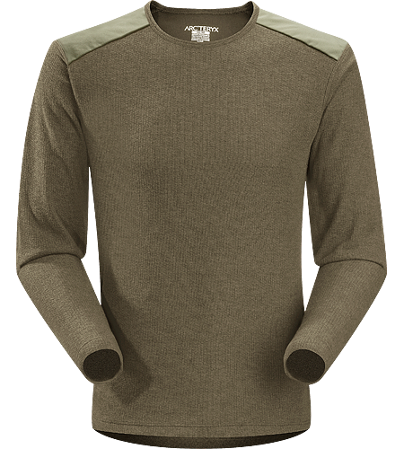 Cordin Pullover Men's Relaxed fitting, moisture wicking, lightly insulated wool blend sweater with reinforced shoulders. Ideal as an insulated mid layer for winter living.