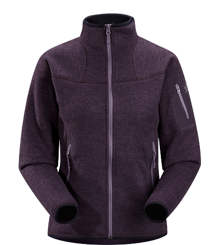 Covert Cardigan Women's Luftige Fleece-Jacke in lässigem Look - ideal als zweite Lage oder solo