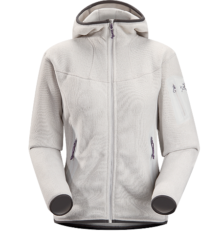Covert Hoody Women's Luftiger Fleece-Kapuzenpulli in lässigem Look - ideal als zweite Lage oder solo