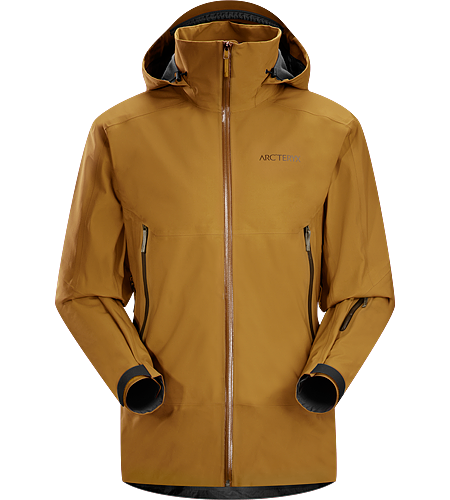 Crossbow Jacket Men's Lightly insulated, waterproof, windproof, GORE-TEX® with 3L softshell construction jacket designed for on-area riding and skiing.