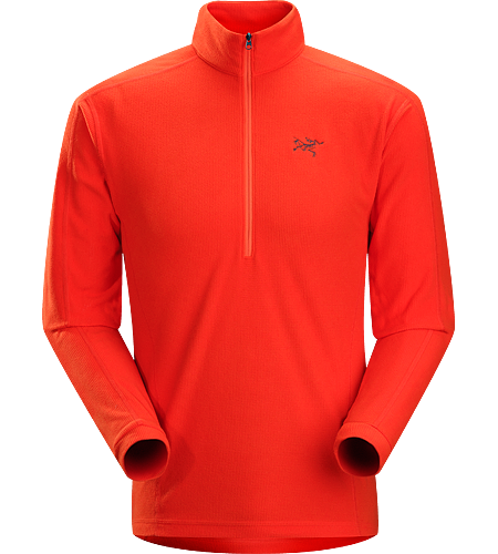 Delta LT Zip Neck Men's Delta Series: Mid layer fleece | LT: Lightweight. Breathable, moisture-wicking, lightweight insulated jersey.