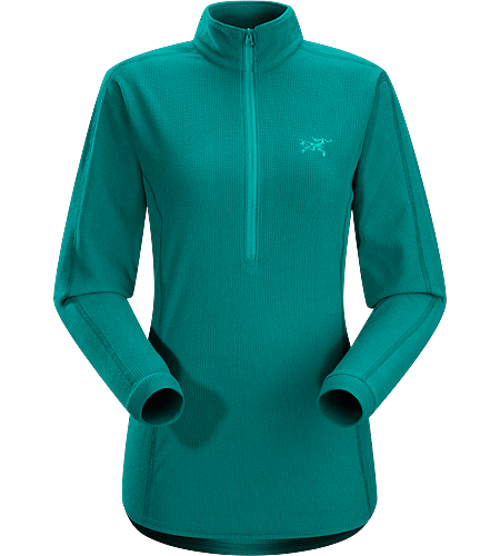 Delta LT Zip Neck Women's Delta Series: Mid layer fleece | LT: Lightweight. Breathable, moisture-wicking, lightweight insulated jersey.