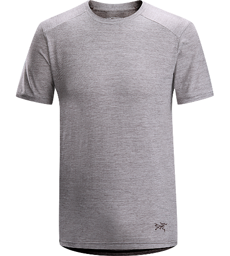 Envoy SS Men's Natural fibre cotton/wool blend crew neck T-shirt with anti-microbial properties