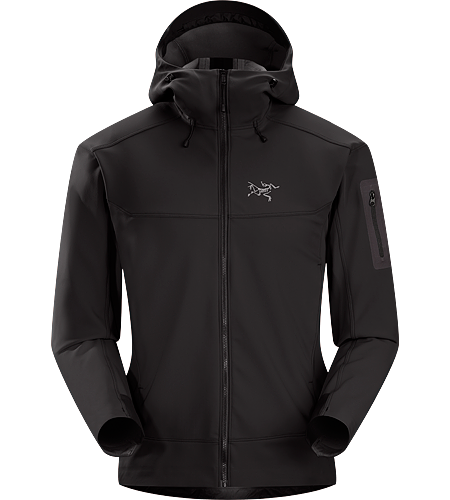 Epsilon LT Hoody Men's Epsilon Series: Abrasion resistant mid layer fleece | LT: Lightweight. Moderate warmth mid layer hoody with good air permeability and the durable woven face of a softshell.