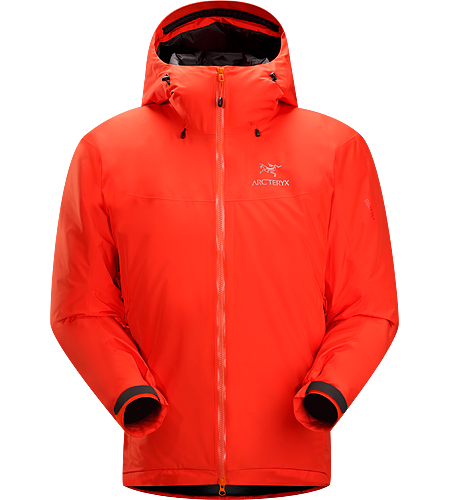 Fission SL Jacket Men's Fission Series: Insulated weatherproof outerwear | SL: Superlight. The lightest weight, fully waterproof, fully insulated jacket uses waterproof/breathable GORE-TEX® and Arc'teryx exclusive Thermatek™ insulation.