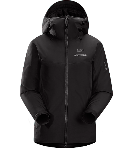 Fission SL Jacket Women's Fission Series: Insulated weatherproof outerwear | SL: Superlight. The lightest weight, fully waterproof, fully insulated jacket uses waterproof/breathable GORE-TEX® and Arc'teryx exclusive Thermatek™ insulation.