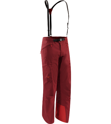 Fury AR Pant Men's Windproof, vented, articulated pant constructed with WINDSTOPPER® textile.