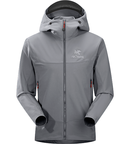 Gamma LT Hoody Men's <strong>Gamma Series: Softshell outerwear with stretch | LT: Lightweight. </strong> Durable and breathable, wind and moisture resistant softshell hooded jacket for everyday use. Ideal for active outdoor use.