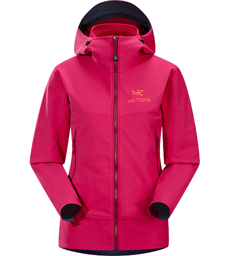Gamma LT Hoody Women's <strong>Gamma Series: Softshell outerwear with stretch | LT: Lightweight. </strong> Durable and breathable, wind and moisture resistant softshell hooded jacket for everyday use.