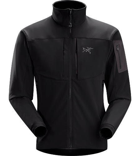 Gamma MX Jacket Men's Gamma Series: Softshell outerwear with stretch | MX: Mixed Weather. Breathable, articulated soft shell jacket; ideal for alpine climbing and backcountry activities