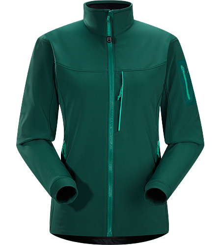 Gamma MX Jacket Women's Gamma Series: Softshell outerwear with stretch | MX: Mixed Weather. Breathable, articulated soft shell jacket; ideal for alpine climbing and backcountry activities