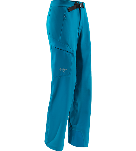 Gamma MX Pant Women's Gamma Series: Softshell outerwear with stretch | MX: Mixed Weather. Lightly insulated, breathable soft shell pant with DWR durable water repellent treatment to resist light moisture; ideal for alpine and expedition climbing