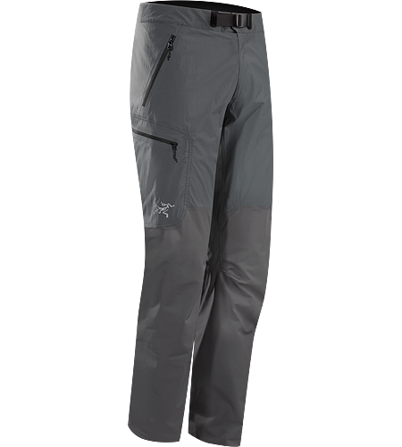 Gamma SL Hybrid Pant Men's <strong>Gamma Series: Softshell outerwear with stretch | SL: Superlight. </strong> Lightweight, durable wind and moisture resistant pants constructed using two weights of softshell textile for enhanced mobility and breathability.