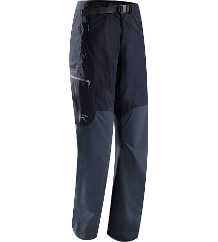 Gamma SL Hybrid Pant Women's <strong>Gamma Series: Softshell outerwear with stretch | SL: Superlight. </strong> Lightweight, durable wind and moisture resistant pants constructed using two weights of softshell textile for enhanced mobility and breathability.