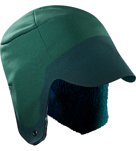 Hyllus Hat Hyllus Series: Abrasion resistant, high-loft Hardfleece. Hunter style ear flap hat in weather resistant, insulated hardfleece.