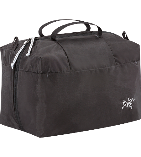 Index 5 + 5 Dual compartment travel bag/organizer for use alone or inside luggage