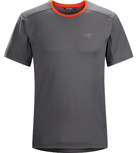 Iridine Crew SS Men's Heavyweight, hard wearing short sleeve technical shirt for cooler temperatures and rugged conditions