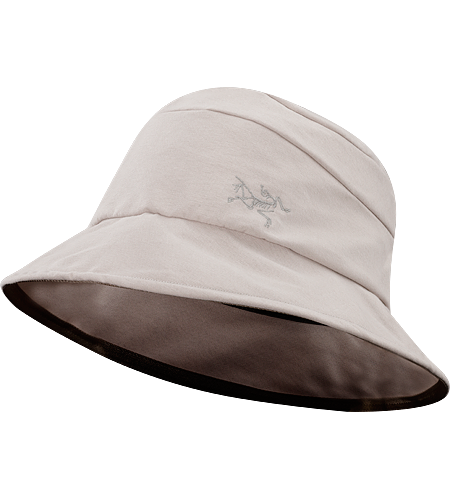 Kapol Hat Men's Wide brim cotton twill hat with a bound edge. Pliable, compact sun protection with a plush textured interior elastic.