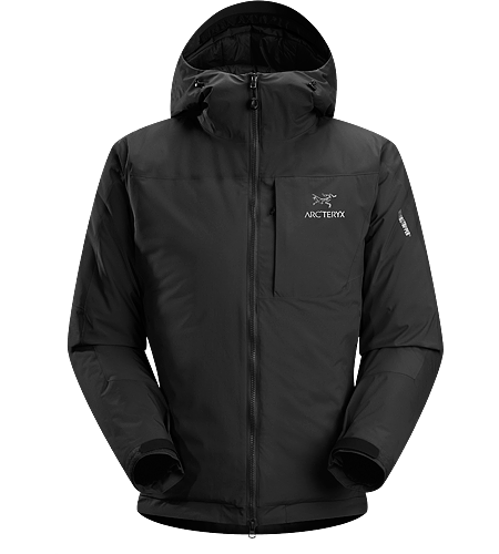 Kappa Hoody Men's Kappa Series: Insulated wind resistant outerwear. Highly insulated, windproof, breathable jacket constructed with enhanced WINDSTOPPER® fabric with a softer face, and reinforced shoulders and arms; ideal for active pursuits in freezing weather.