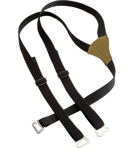 LEAF Suspenders Men's These Y-shaped elasticized suspenders feature nickel-plated clips that easily attach onto webbing loops found on Sphinx, Gryphon, and Talos pants.