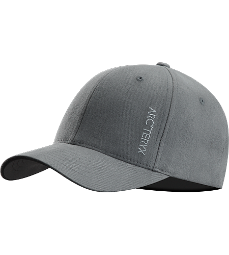 Low Word Cap Men's A low profile cap with an embroidered logo on the front.