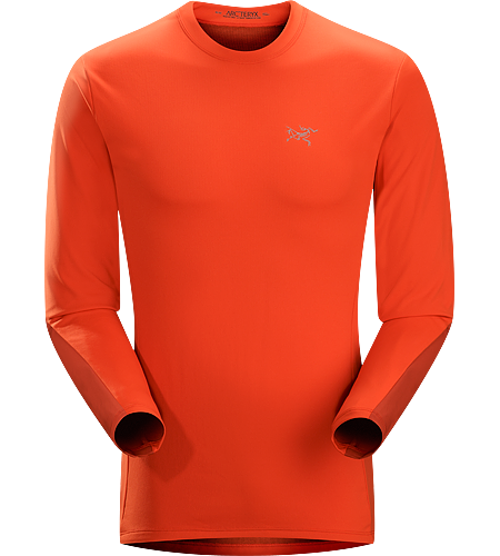Morphic Crew LS Men's Versatile alpine, ice, expedition and rock climbing Phasic™ AR-X crew neck wicks moisture and provides stretch performance to rock, ice and alpine climbers. Reinforced with Enduraflex™ in zones prone to abrasion.
