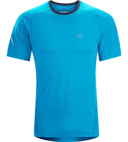 Motus Crew SS Men's Lightweight, moisture-wicking, quick-drying, short sleeve shirt constructed using Phasic™ technology textile; ideal for a wide range of high-output activities.
