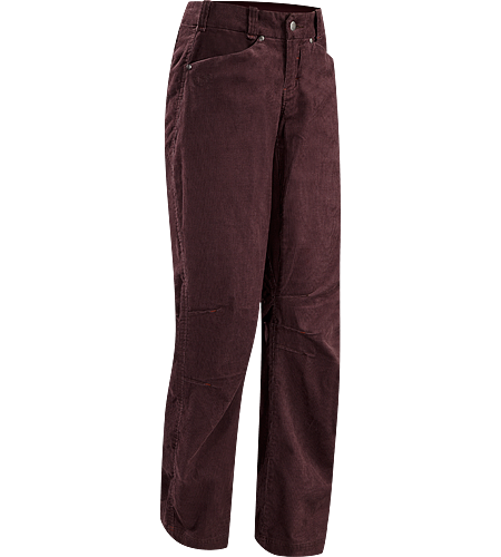 Naely Pant Women's Low-rise, relaxed fit corduroy pant with articulation for motion and comfort