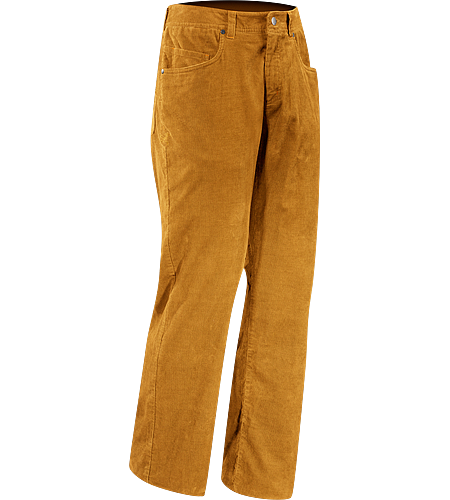 Nalix Pant Men's Relaxed fit corduroy pant with articulation for motion and comfort
