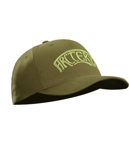 Nouveau Cap A low profile cap with an embroidered logo on the front.