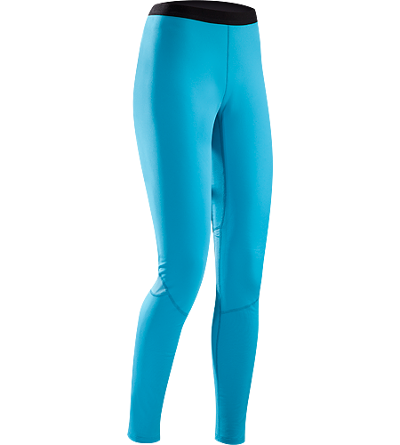 Phase AR Bottom Women's Phase Series: Moisture wicking base layer | AR: All-Round. Moisture-wicking base layer bottom, constructed using odour-control fabric; Ideal as mid-level insulation during stop-and-go activities.