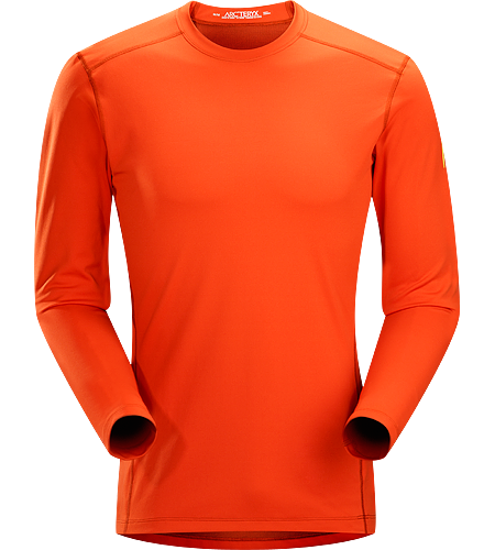 Phase AR Crew LS Men's Phase Series: Moisture wicking base layer | AR: All-Round. Lightly-insulated, moisture-wicking, base layer, designed for aerobic use during cooler conditions.