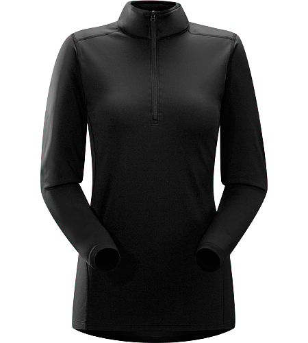 Phase AR Zip Neck LS Women's <strong>Phase Series: Moisture wicking base layer | AR: All-Round. </strong>Lightly insulated, zip-neck base layer, designed for use during aerobic activities in cooler conditions.