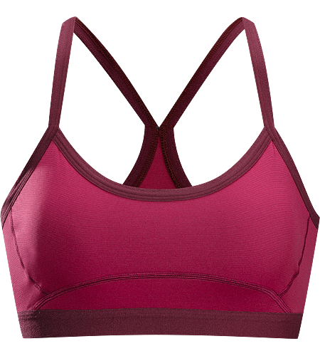 Phase SL Bra Women's Phase Series: Moisture wicking base layer | SL: Superlight. Supportive bra for low-impact activities, constructed using super lightweight Phasic™ textile for excellent moisture management during stop-and-go activities.