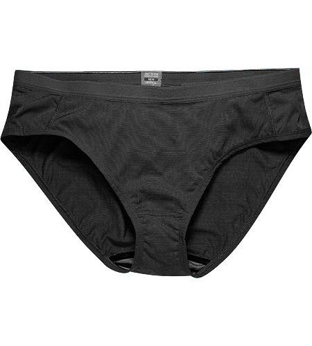 Phase SL Brief Women's Phase Series: Moisture wicking base layer | SL: Superlight. Lightweight, moisture-wicking women's bikini-style brief constructed using super lightweight Phasic™ textile for excellent moisture management during stop-and-go activities.