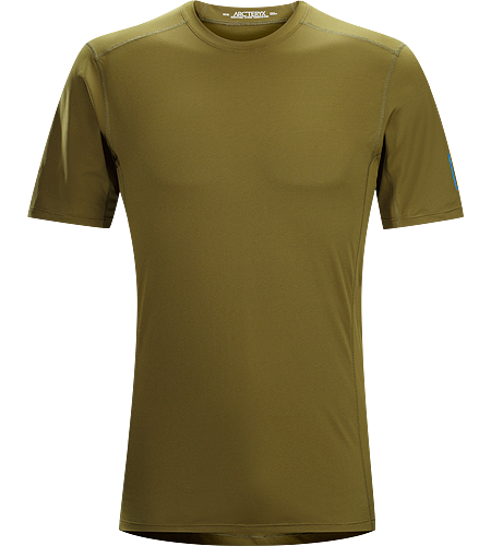 Phase SL Crew SS Men's Phase Series: Moisture wicking base layer | SL: Superlight. Moisture-wicking base-layer, constructed using odour-control fabric; Ideal as lightweight insulation layer during aerobic activities.