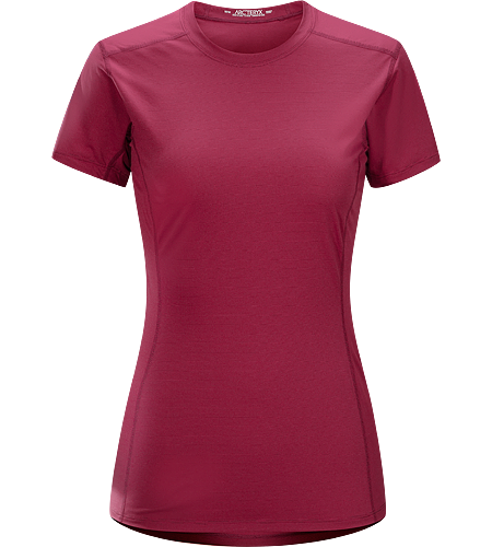 Phase SL Crew SS Women's Phase Series: Moisture wicking base layer | SL: Superlight. Moisture-wicking base-layer, constructed using odour-control fabric; Ideal as lightweight insulation layer during aerobic activities.