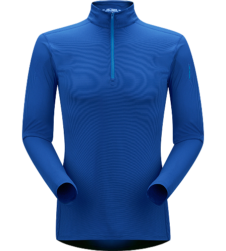 Phase SL Zip Neck LS Men's Phase Series: Moisture wicking base layer | SL: Superlight. Moisture-wicking base-layer with zip neck, constructed using odour-control fabric; Ideal as lightweight insulation layer during aerobic activities