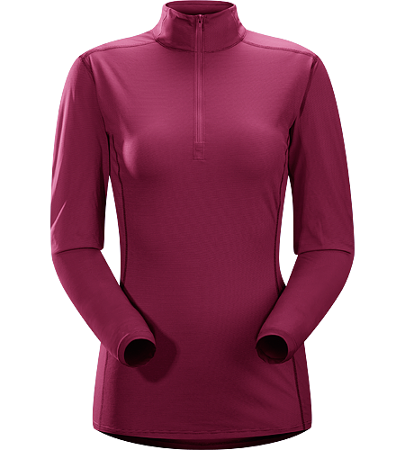 Phase SL Zip Neck LS Women's Phase Series: Moisture wicking base layer | SL: Superlight. Moisture-wicking base-layer with zip neck, constructed using odour-control fabric; Ideal as lightweight insulation layer during aerobic activities