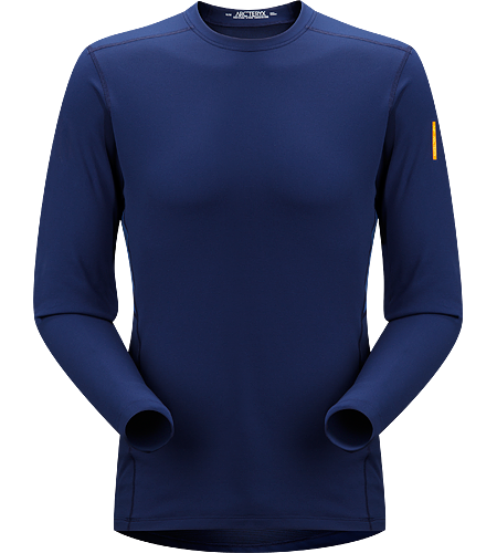 Phase SV Crew LS Men's Phase Series: Moisture wicking base layer | SV: Severe Weather. Moisture-wicking base-layer, constructed using odour-control fabric; Ideal as mid-level insulation during aerobic activities