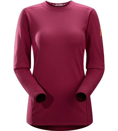 Phase SV Crew LS Women's Phase Series: Moisture wicking base layer | SV: Severe Weather. Moisture-wicking base-layer, constructed using odour-control fabric; Ideal as mid-level insulation during aerobic activities