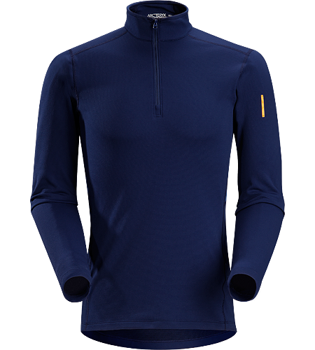 Phase SV Zip Neck LS Men's <strong>Phase Series: Moisture wicking base layer | SV: Severe Weather. </strong>Moisture-wicking base layer zip neck top, constructed using odour-control fabric; Ideal as mid-level insulation during stop-and-go activities.