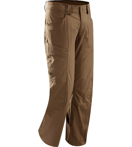 Rampart Pant Men's Lightweight and breathable pants patterned for maximum mobility; ideal for hiking and trekking.