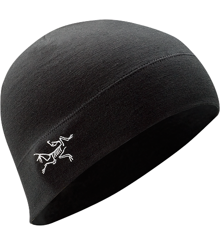 Rho LTW Beanie <div class='outdoormbdata'>A Wool beanie, featuring a double layered headband and embroidered Bird logo on the side.</div><div class='leafmbdata'>This merino wool/spandex blend beanie has a double layered headband for added warmth and embroidered bird logo on the side.</div>