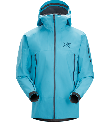 Sabre Jacket Men's Redesigned with enhanced GORE-TEX® fabric with a softer face and Slide 'n Loc™ snap system. Waterproof and windproof GORE-TEX® jacket, designed for on-area riding and skiing