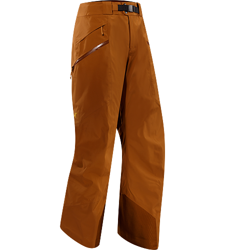 Sabre Pant Men's Built for riders/skiers, a lightly insulated, waterproof, GORE-TEX® pant with a Slide 'n Loc™ snap system to attach the jacket to pants.