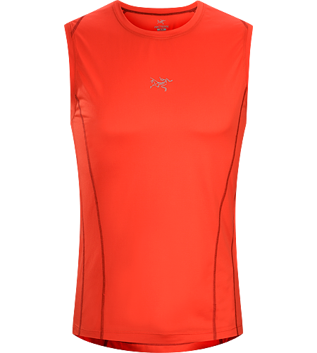 Sarix Sleeveless Men's Ultra lightweight, high performance mesh sleeveless shirt designed for trail running and racing.