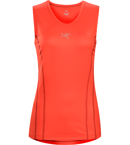 Sarix Sleeveless Women's Ultra lightweight, high performance mesh sleeveless shirt designed for trail running and racing.
